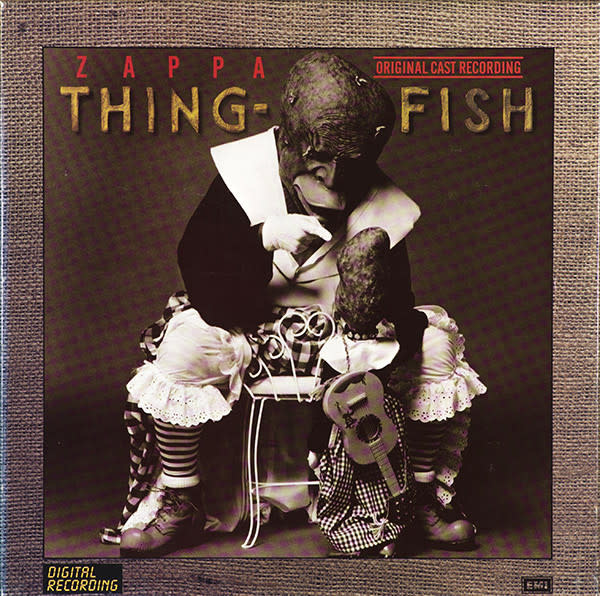 Rock/Pop Frank Zappa - Thing-Fish (3LP Box Set) (VG+) (Price Reduced: stain on cover)