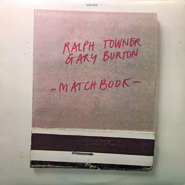 Jazz Gary Burton & Ralph Towner - Matchbook (Price Reduced: sleeve damage) (VG+)
