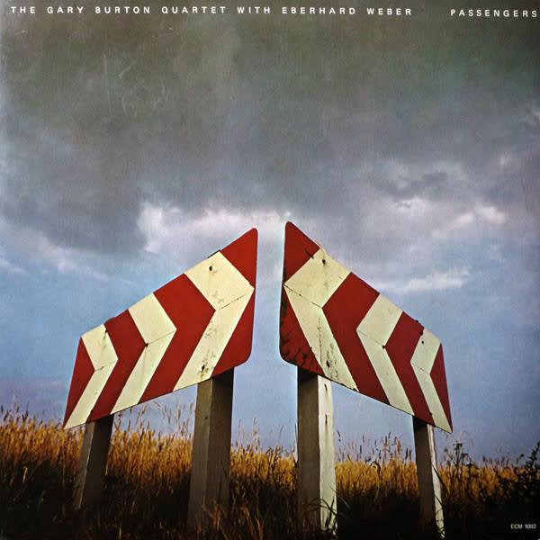 Jazz Gary Burton Quartet With Eberhard Weber - Passengers (VG+)