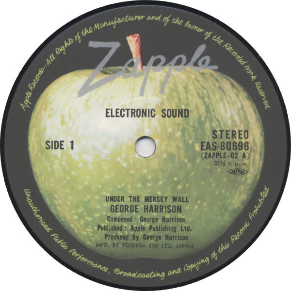 Rock/Pop George Harrison - Electronic Sound (1977 Japan Reissue) (NM) (Without Obi)