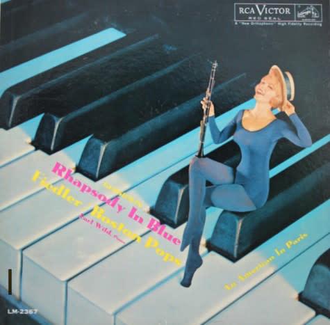 Classical Gershwin - Rhapsody In Blue - Fiedler / Boston Pops, Earl Wild (VG+)
