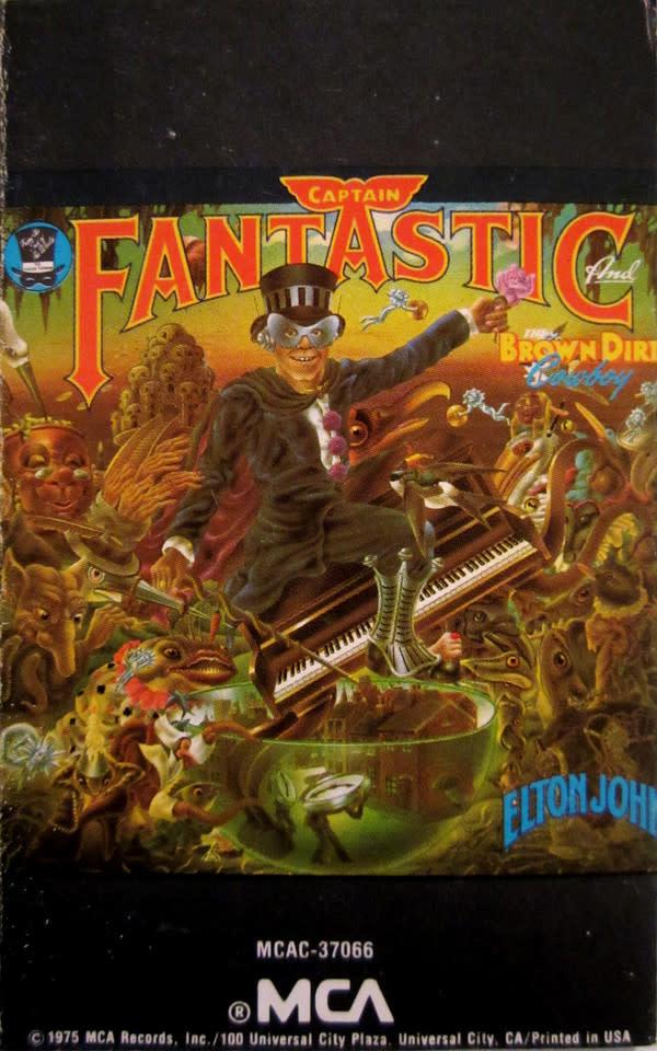 Rock/Pop Elton John - Captain Fantastic And The Brown Dirt Cowboy