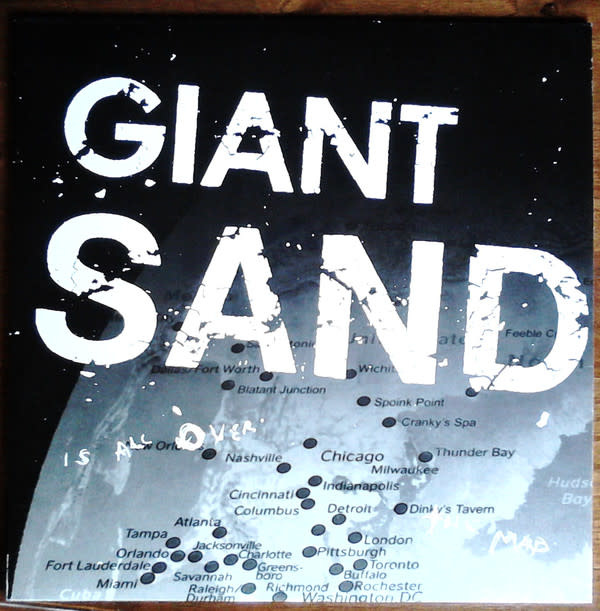 Rock/Pop Giant Sand - Is All Over The Map (Original '04) (NM)