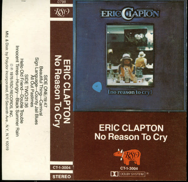 Rock/Pop Eric Clapton - No Reason To Cry