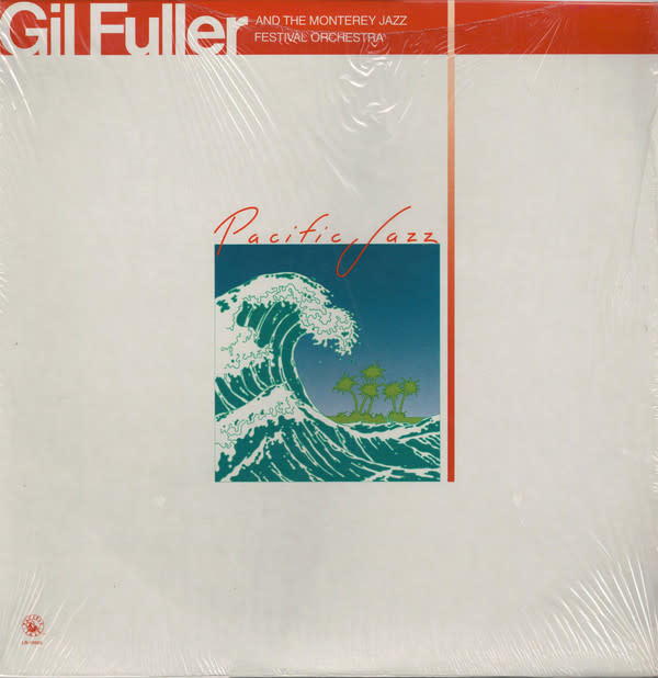 Jazz Gil Fuller & The Monterey Jazz Festival Orchestra Featuring Dizzy Gillespie (1981 reissue of 1965 release) (VG+)