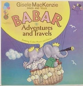 Childrens Gisele MacKenzie Sings And Tells Babar (VG)