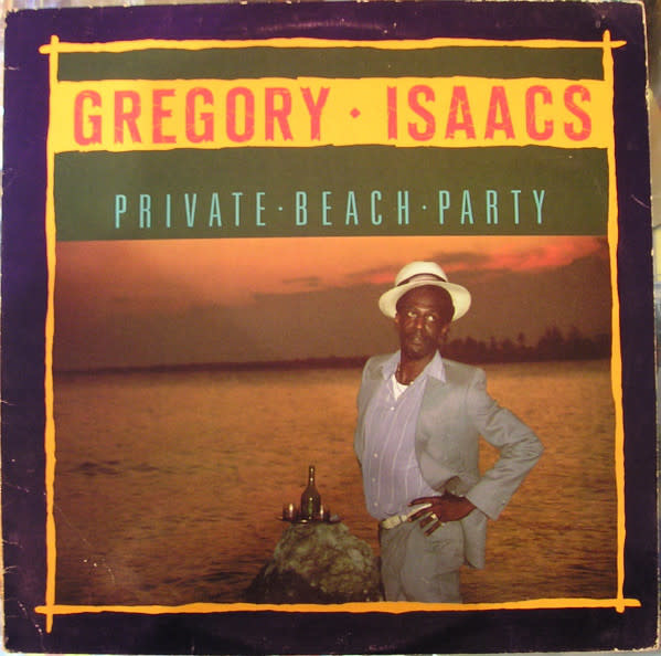 Reggae/Dub Gregory Isaacs - Private Beach Party (VG++)