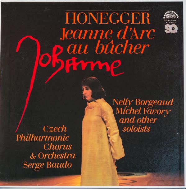 Classical Honegger: Jeanne D'Arc Au Bûcher (2LP Box) (VG++)
