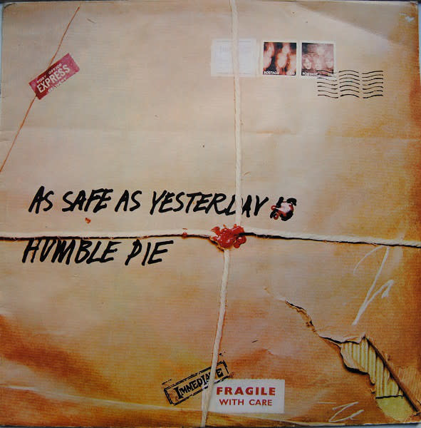 Rock/Pop Humble Pie - As Safe As Yesterday Is (1969 CA Press) (VG)