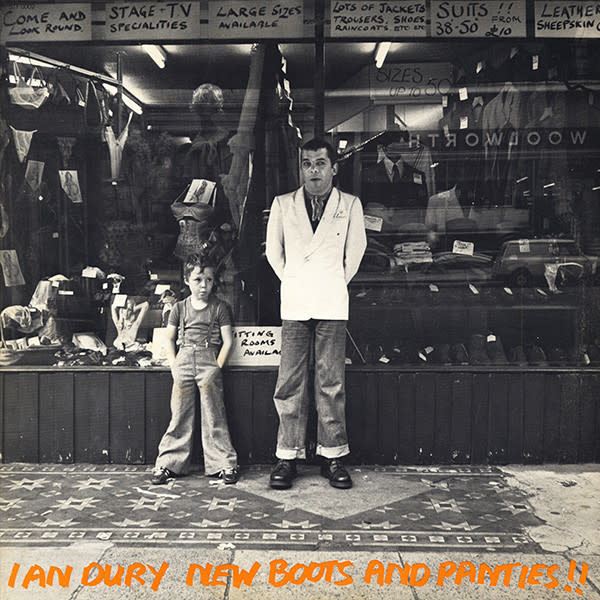 Rock/Pop Ian Dury - New Boots And Panties!! (VG+)