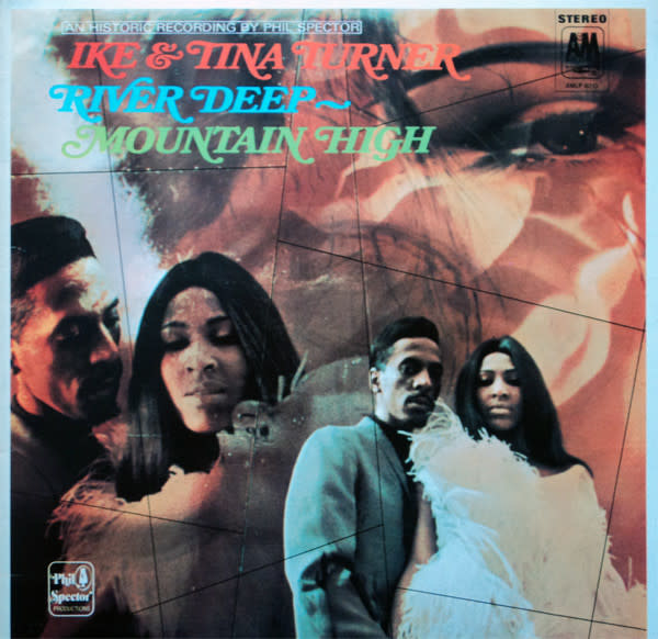 R&B/Soul/Funk Ike & Tina Turner - River Deep - Mountain High (70s Reissue) (VG)