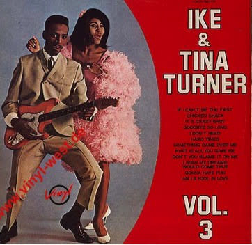 R&B/Soul/Funk Ike & Tina Turner - Vol. 3 (Italy Comp) (VG)