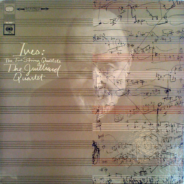 Classical Ives - The Two String Quartets - The Juilliard Quartet (VG, conservative)
