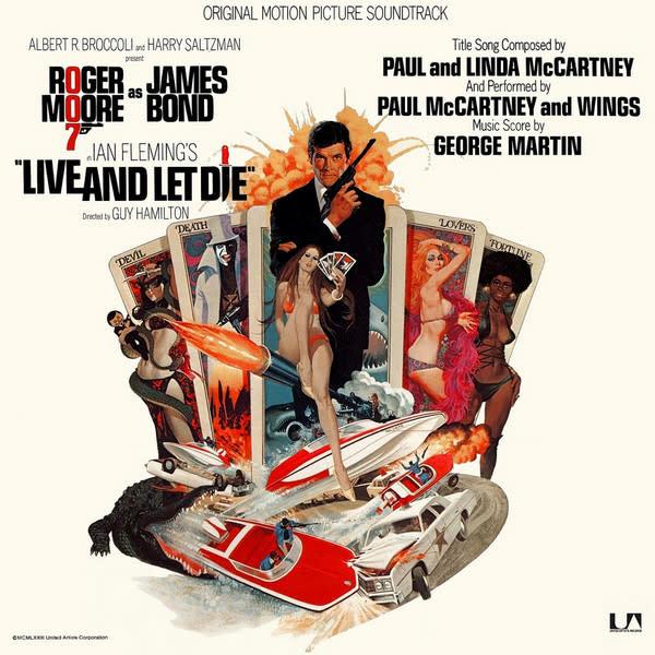 Soundtracks James Bond: Live And Let Die (Soundtrack) - Paul McCartney & Wings, George Martin -  (VG+)
