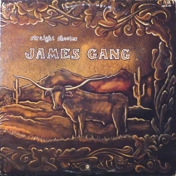 Rock/Pop James Gang - Straight Shooter (VG+)