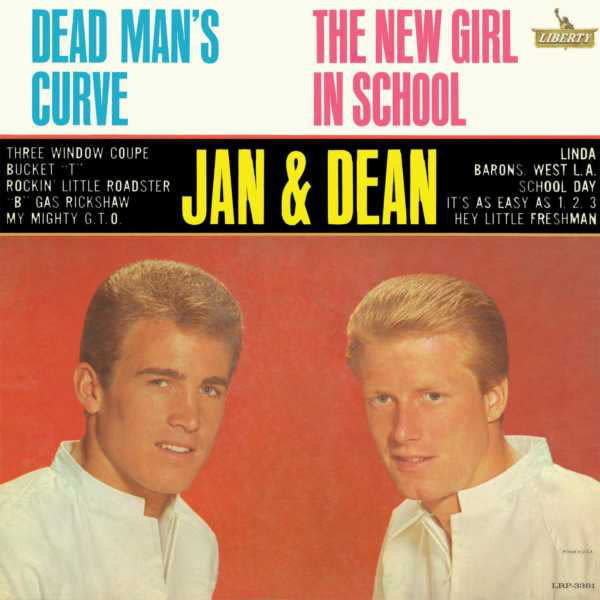 Lounge/Surf Jan & Dean - Dean Man's Curve / The New Girl In School (G+)
