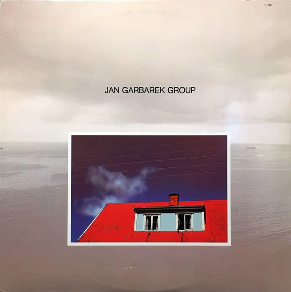 Jazz Jan Garbarek Group - Photo With Blue Sky, White Cloud, Wires, Windows And A Red Roof (VG+)