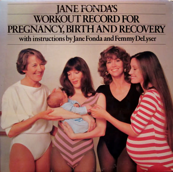 Childrens Jane Fonda's Workout Record For Pregnancy, Birth And Recovery (VG+)