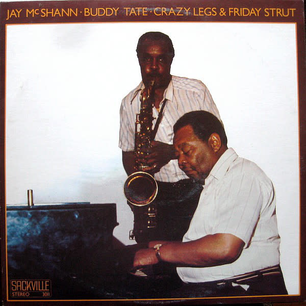 Jazz Jay McShann & Buddy Tate - Crazy Legs & Friday Strut (NM)