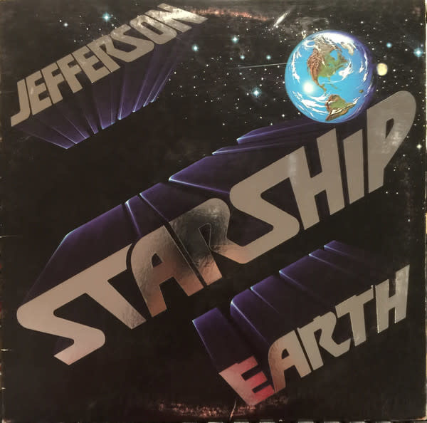 Rock/Pop Jefferson Starship - Earth (VG+)