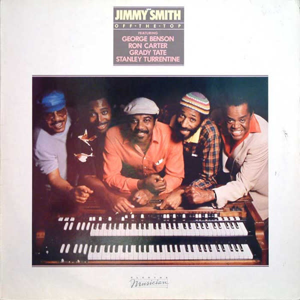 Jazz Jimmy Smith - Off The Top (VG+)