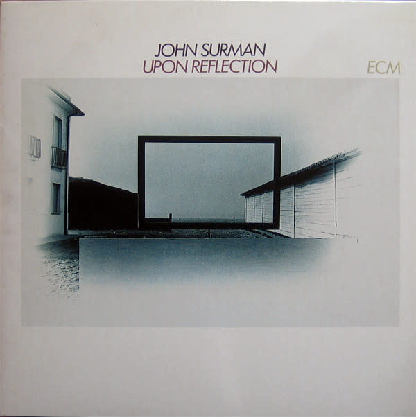 Jazz John Surman - Upon Reflection (VG+) (Price Reduced: sleeve condition)