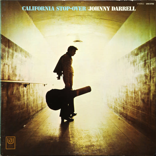 Folk/Country Johnny Darrell - California Stop-Over (VG) (Price Reduced: top seam-split)