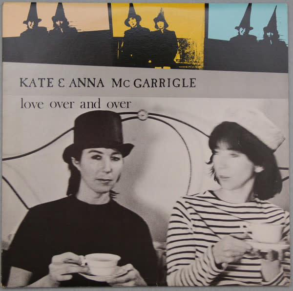 Folk/Country Kate & Anna McGarrigle - Love Over And Over (VG+)