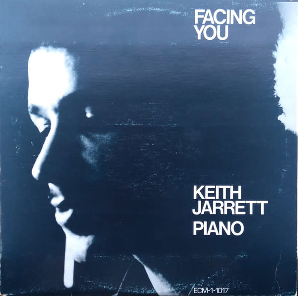 Jazz Keith Jarrett - Facing You (VG+) (Price Reduced: sleeve condition)