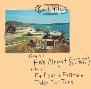 Rock/Pop Kurt Vile - He's Alright (Blue Vinyl) (NM)