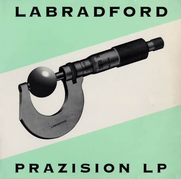 Rock/Pop Labradford - Prazision LP (1996 New Zealand Press) (NM) (Price Reduced: top seam split)