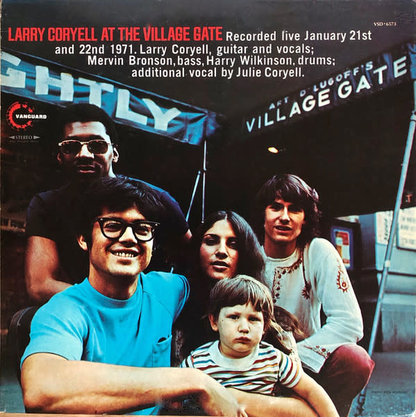 Jazz Larry Coryell - At The Village Gate (NM)
