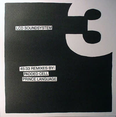 Electronic LCD Soundsystem - 45:33 Remixes By: Padded Cell, Prince Language (NM)