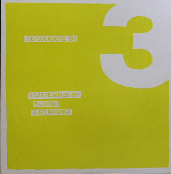 Electronic LCD Soundsystem - 45:33 Remixes By: Pilooski, Theo Parrish (NM)