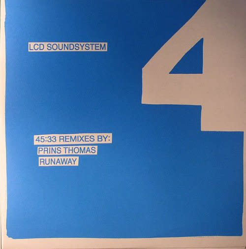 Electronic LCD Soundsystem - 45:33 Remixes By: Prins Thomas, Runaway (NM)
