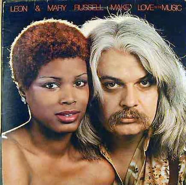 Rock/Pop Leon & Mary Russell ‎– Make Love To The Music (VG+)