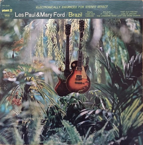 Lounge/Surf Les Paul & Mary Ford - Brazil (VG++)