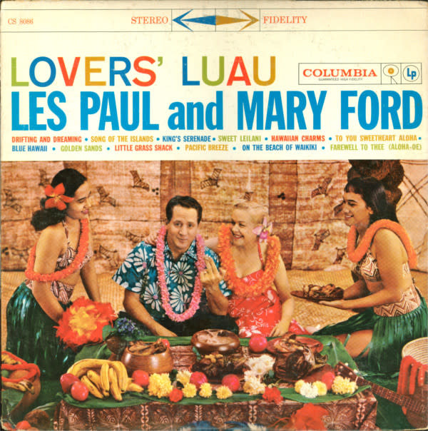 Lounge/Surf Les Paul And Mary Ford - Lovers' Luau (VG+)