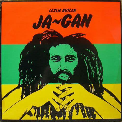 Reggae/Dub Leslie Butler - Ja-Gan (VG+)