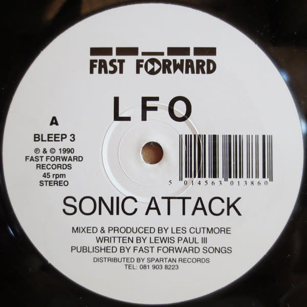 Electronic LFO - Sonic Attack b/w Lord Of Light (VG+)