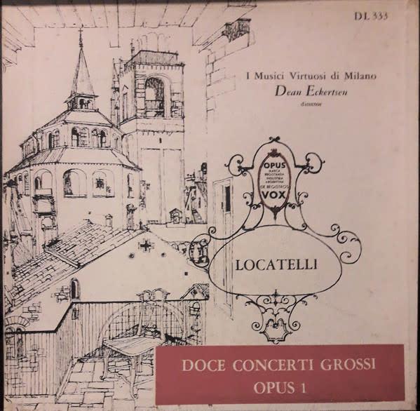 Classical Locatelli - Twelve Concerti Grossi, Opus 1 - Eckertsen (3LP Box Set) (VG++)