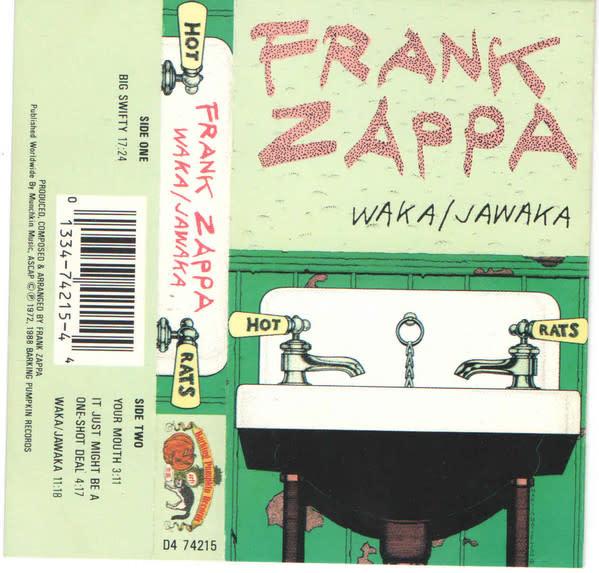 Rock/Pop Frank Zappa - Waka / Jawaka - Hot Rats (Sealed)