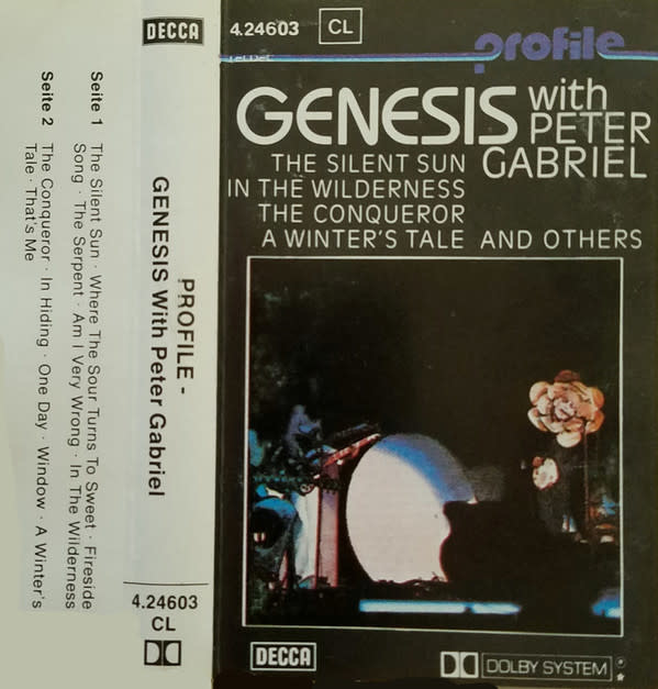 Rock/Pop Genesis with Peter Gabriel (From Genesis To Revelation, Profile Reissue)