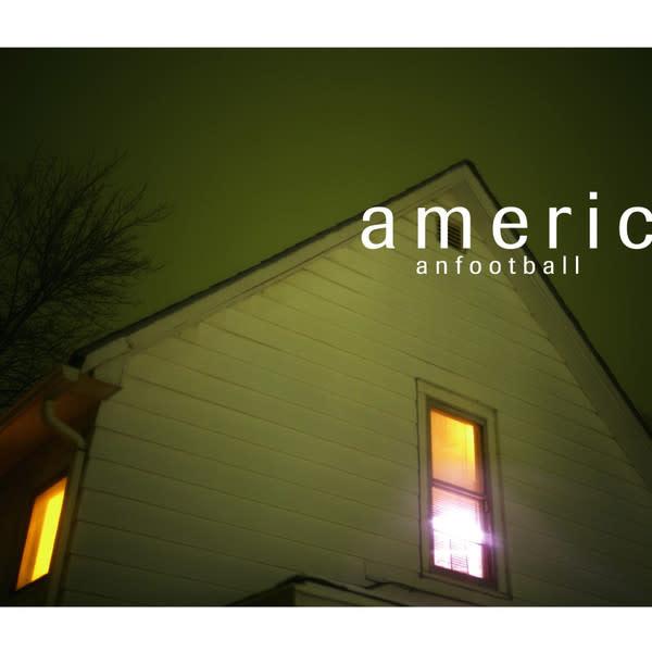 Rock/Pop American Football - S/T (Clear w/Blue Smoke Vinyl)