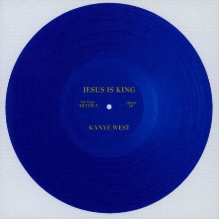 Hip Hop/Rap Kanye West - Jesus Is King (Blue Vinyl)