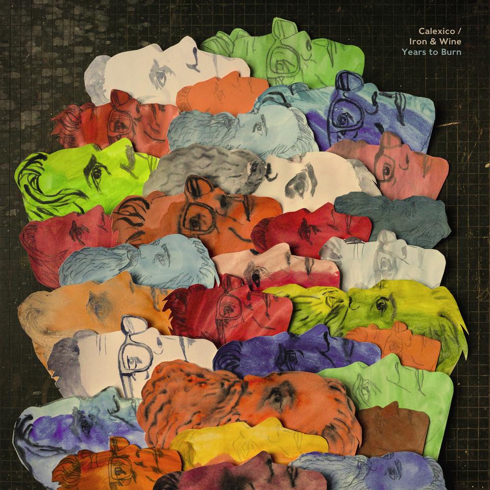 Rock/Pop Calexico / Iron & Wine - Years To Burn (Coloured Vinyl)