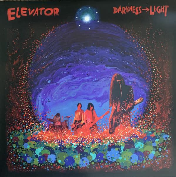 Rock/Pop Elevator - Darkness -> Light (Coloured Vinyl)