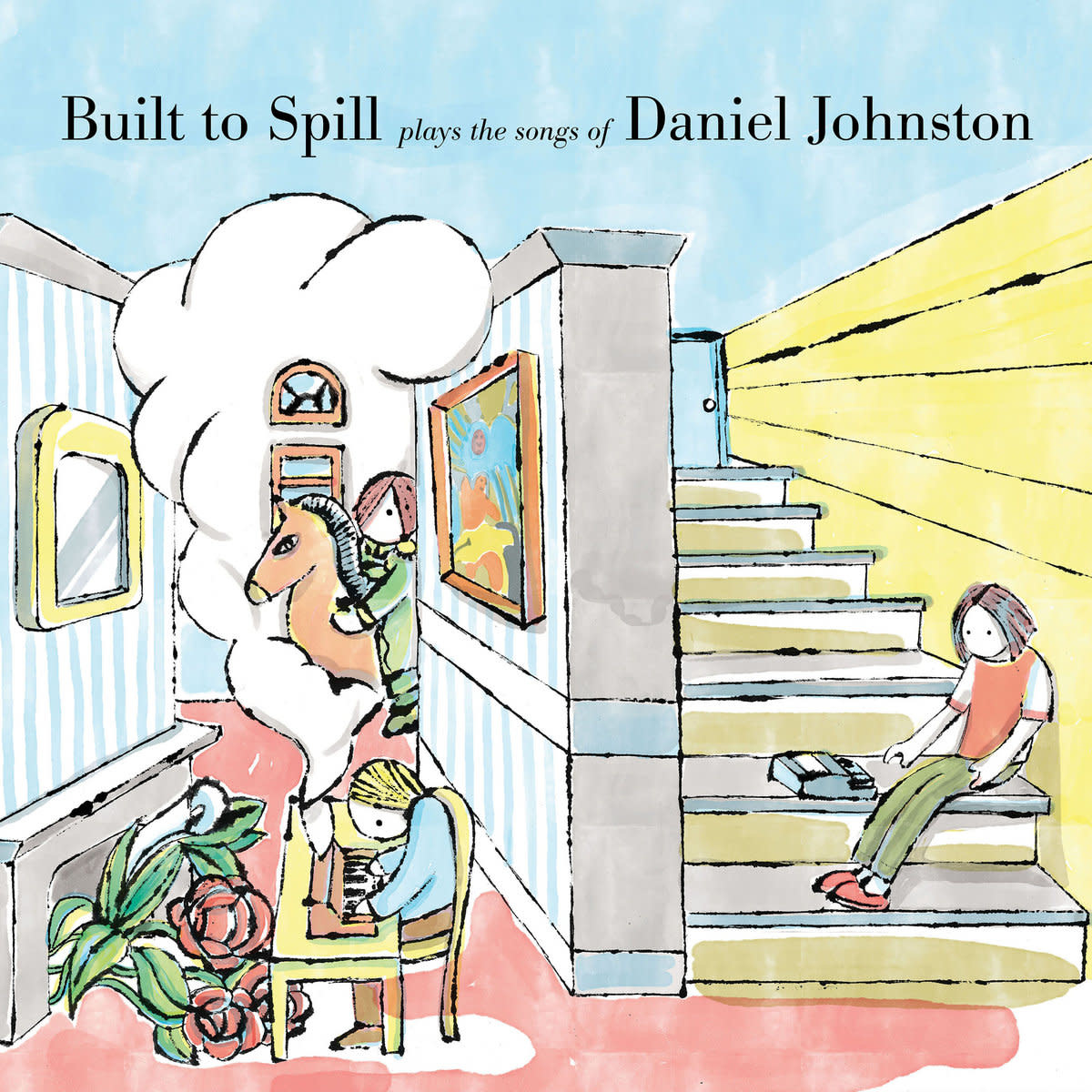 Rock/Pop Built To Spill - Plays The Songs Of Daniel Johnston (Price Reduced: crease on back cover)