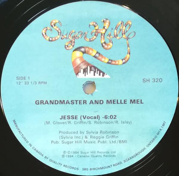 "Hip Hop/Rap Grandmaster Melle Mel - Jesse (12"") (VG+)"