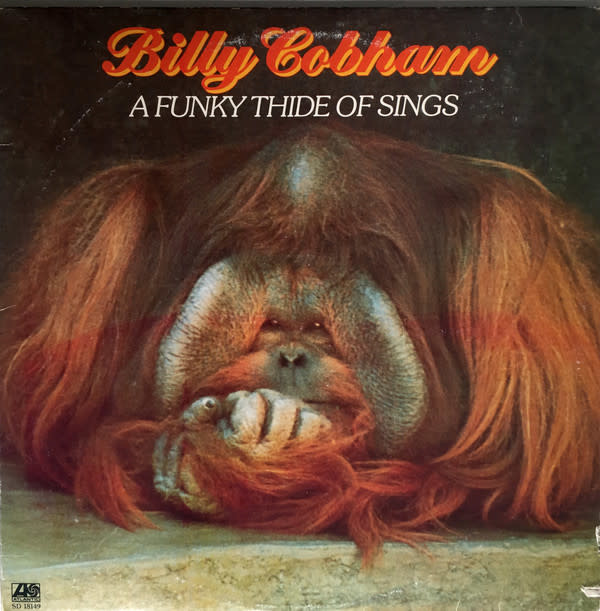 Jazz Billy Cobham - A Funky Thide Of Sings (VG+)